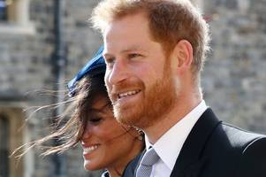 this is why meghan markle and harry missed a huge part of eugenie's royal wedding