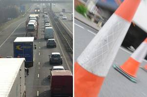 closures planned on the m2 nearly every night for a month to repair medway bridge