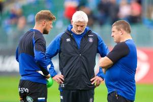 Bath Rugby DoR Todd Blackadder reacts to Freddie Burns' costly mistakes against Toulouse
