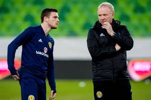 alex mcleish and andy robertson insist three-at-the-back is the best fit for scotland