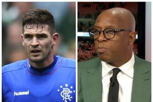 ian wright slams rangers striker kyle lafferty's 'disgraceful behaviour' over northern ireland call-off