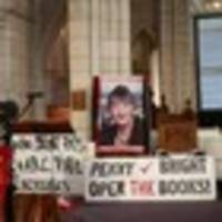Penny Bright farewelled amid protest banners and fellow activists