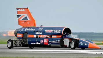 bloodhound supersonic car hits financial roadblock