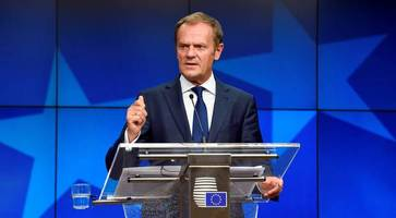no-deal brexit is 'more likely than ever before', warns eu council president donald tusk