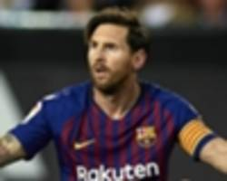 barcelona would be 10th in la liga without messi, says angel cappa