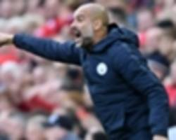 'i don't know if we're ready' - guardiola unsure about man city's champions league chances