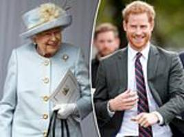 queen makes prince harry her official aide-de-camp