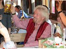 Richard Branson says restaurants never allow him to pay for his food