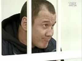 Russian cannibal is jailed for killing his lover, 27, and boiling her body parts
