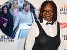 Whoopi Goldberg spoke about Meghan's royal baby the day before the announcement