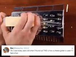 you've been grating cheese all wrong!