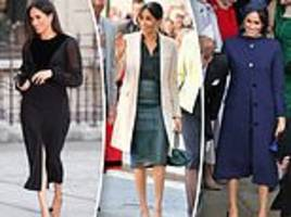 meghan markle pregnant: how she hid her baby bump