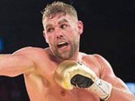 billy joe saunders needs help... as he slips deeper into the abyss he his heading for oblivion