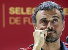 how spain have turned around world cup nightmare under luis enrique