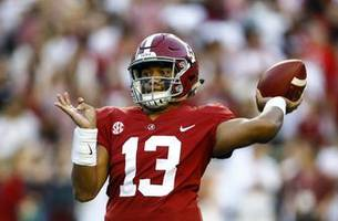 stat watch: alabama hits midway point atop offensive charts