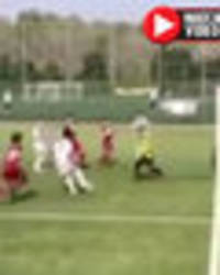 Cristiano Ronaldo's son dubbed 'future KING of football' after ridiculous goal in game