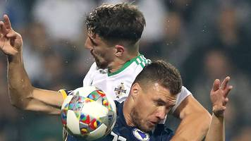 Northern Ireland suffer third Nations League defeat