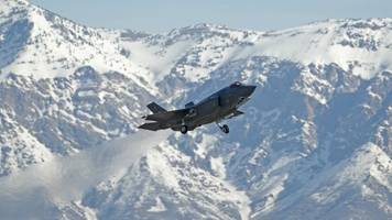 most of pentagon's f-35s cleared after fuel tube inspections