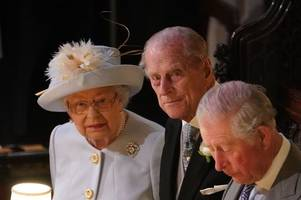 prince philip and charles 'locked in disagreement' over royal family future