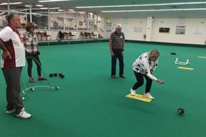 Newbies bowled over by afternoon sessions at Mid Devon Indoor Bowls Club