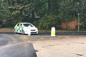 two injured after three-vehicle crash closes road in scunthorpe
