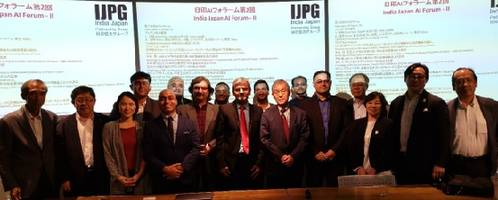 India Japan Partnership Group Held The Second India Japan AI Forum in Central Tokyo