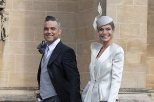 robbie williams calls x factor judge wife ayda field 'picasso t**s' after breastfeeding their three kids