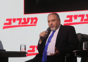 liberman: gaza cease fire only possible after 'harshest blow' to hamas