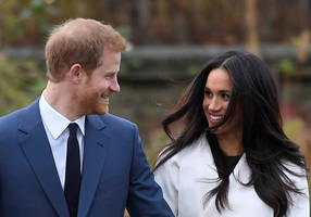 UK's Prince Harry and wife Meghan expecting first baby next year