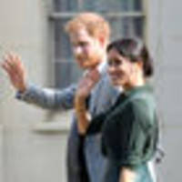 revealed: harry and meghan told royal family of pregnancy news at princess eugenie's wedding last week