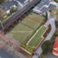 net profit: north shore tennis court sliced off for new property