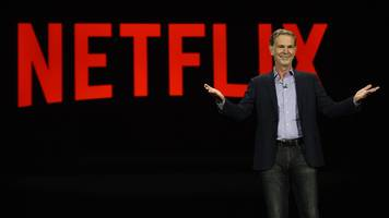 netflix surges on strong subscriber growth