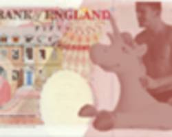 harry maguire petition: england fans lobby for inflatable unicorn bank note