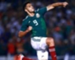 how will mexico line up against chile?