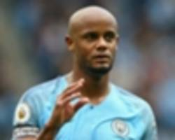 kompany hoping for 'simple' resolution to contract situation at man city