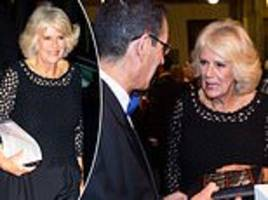 camilla looks in high spirits as she attends man booker prize ceremony in london