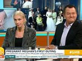 lady colin campbell calls meghan markle a narcissist on good morning britain with paul burrell