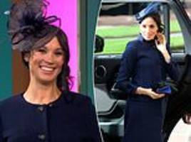 Meghan Markle lookalike on This Morning mimics her pregnancy style