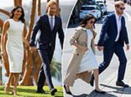 meghan markle swaps her high heels for flat pumps in australia