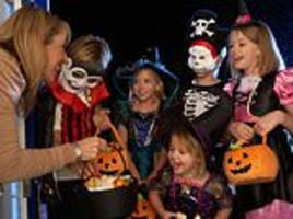 mother advertises for a babysitter to take her children trick-or-treating on halloween
