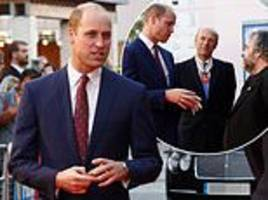 prince william attends they shall not grow old premiere - after pippa middleton gives birth