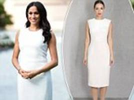 Royal tour: Meghan Markle steps out in Australian designed $1800 dress for first official engagement