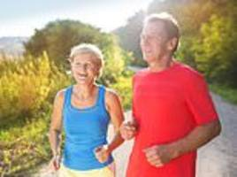 Scientists say runners only get about 1% slower each year between the ages of 40 and 80