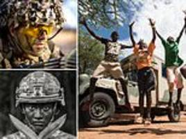 Stunning snapshots of military life: Army hands out prizes in its annual photography competition