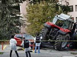 Turkish police shoot tractor driver in leg who was driving towards Israeli embassy