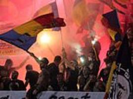 uefa charge romania for racism and misconduct during nations league tie