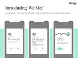 hinge launches 'we met' feature to let users  review first dates
