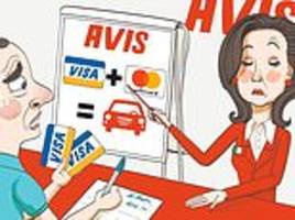 ask tony: avis refused to rent me a car in rome because i didn't have both a visa and a mastercard