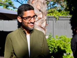 Google CEO Sundar Pichai says employee protests against the company's work with US military had little impact on management: 'We don't run the company by referendum' (GOOG, GOOGL)