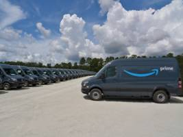 some of amazon's brand-new mercedes-benz delivery vans are suffering a mechanical failure (amzn)